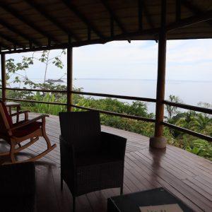 rocking chairs on balcony costa rica